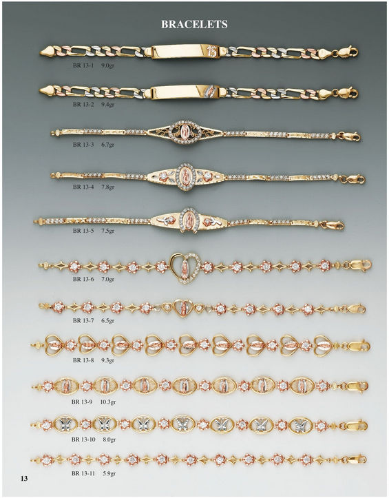 H & A Wholesale Jewelry Catalog Page 13