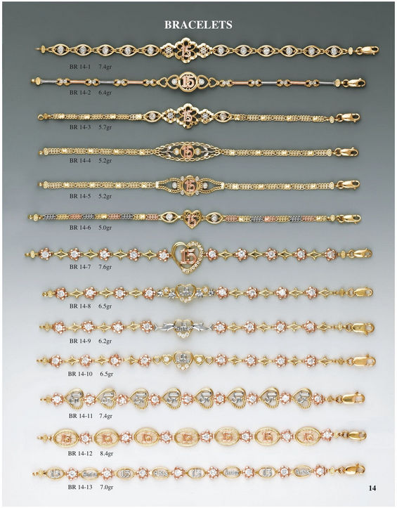 H & A Wholesale Jewelry Catalog Page 14