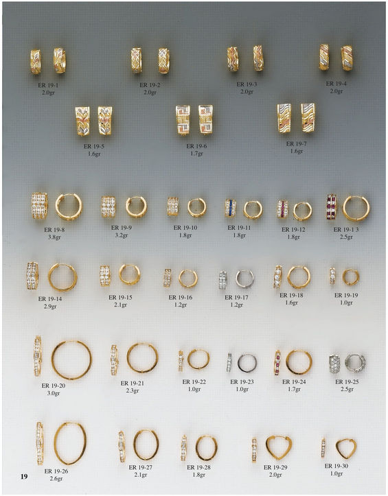 H & A Wholesale Jewelry Catalog Page 19