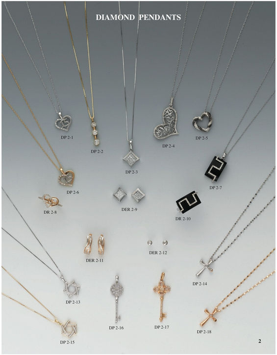 H & A Wholesale Jewelry Catalog Page 2