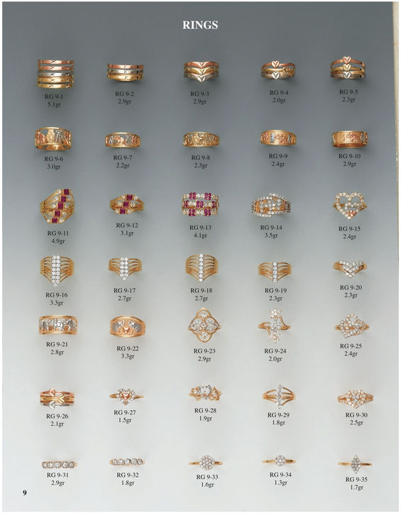H & A Wholesale Jewelry Catalog Page 9